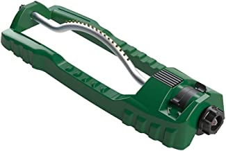 Orbit 3600 Sq Ft Plastic Gear Driven Curved Bar Large Area Lawn and Garden Oscillator Sprinkler