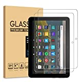 [2-Pack] PULEN for All-new Fire HD 8/Fire HD 8 Plus/Fire HD 8 Kids Screen Protector (2020 Release),HD No Bubble 9H Hardness Anti-Scratch Tempered Glass (8.0 Inch)