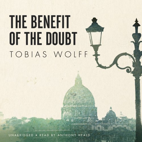 The Benefit of the Doubt audiobook cover art