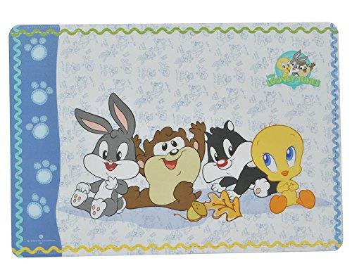 alles-meine.de GmbH Unterlage - Baby Looney Tunes Tweety und Freunde - 43 cm * 29 cm - Tischunterlage / Platzdeckchen / Malunterlage / Knetunterlage / Eßunterlage - Bugs Bunny TA..