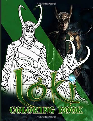 Loki Coloring Book: Loki Nice Coloring Books For Adults