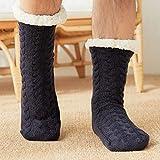 Zapatillas Casa Hombre Mujer Zapatillas De Hombre, Calcetines De Suelo para Interiores, Zapatillas De Invierno para Hombre, Zapatillas De Dormitorio Sólidas De Felpa Cálidas para Hombre, Chanclas