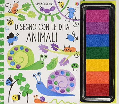 Animali. Disegno con le dita. Ediz. illustrata