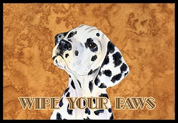 Caroline S Treasures Dalmatian Wipe Your Paws Indoor Or Outdoor Mat 24 X 36 Multicolor