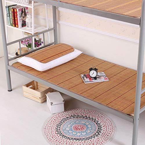 I will take action now Rattanmatte kühle und Flexible Matte gegen Mehltau Einzelbett Schlafsaal Schlafsack Sommer 2 (größe : 90X190cm)