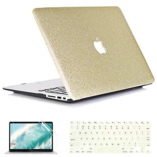 QYiD Funda para MacBook Air 13 Pulgadas A1369 & A1466, Dura Carcasa...