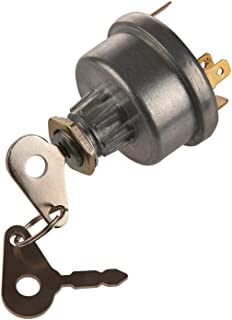 Midiya 3107556R92, K203992 Ignition Switch with 2 Keys for Lucas, David Brown,Backhoe Loader,Universal Car, Tractor,Trailer, agricultura, plant applications