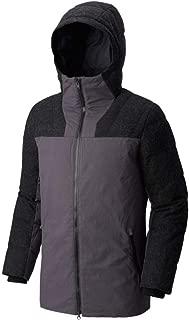SOREL Mens Cheyanne Down Jacket, Dark Grey/Black