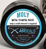 CustomAirSeals 70% Molybdenum DISULFIDE Grease Paste 10g 1/3oz Moly LUBE AIR Rifle Gun ATV Spline...