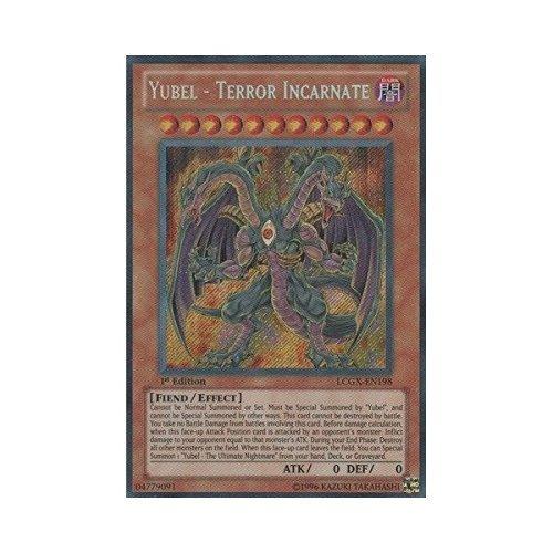 YU-GI-OH! - Yubel - Terror Incarnate (LCGX-EN198) - Legendary Collection 2 - 1st Edition - Secret Rare