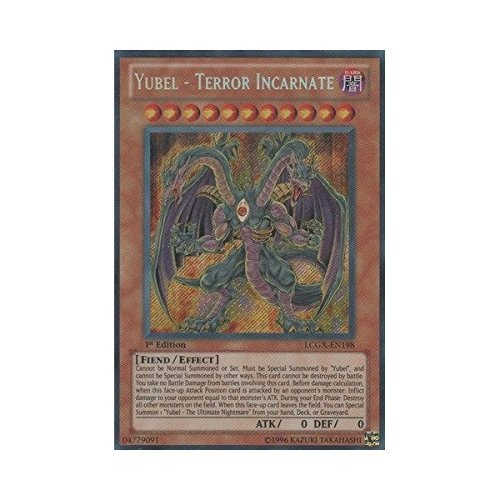 YU-GI-OH! - Yubel - Terror Incarnate (LCGX-EN198) - Legendary Collection 2 - 1st Edition - Secret Rare