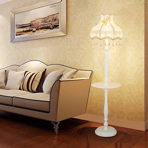 HYY-YY creatieve Europese ledlamp, eenvoudig in de slaapkamer te leven bedlampje staande lamp, retro verticale lamp oogschaduw verticaal onderhoud piano licht