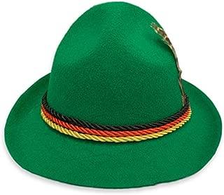 Dkhsy帽子ドイツ風の帽子紳士の帽子伝統的なオクトーバーフェストの帽子ステージキャップ国立帽子ドイツの国立帽子