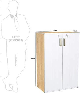 Storage Cabinet in White Color