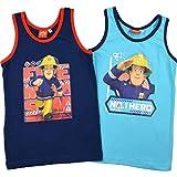 Feuerwehrmann Sam Kinder Jungen Unterhemden Hero