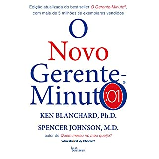 O novo gerente-minuto [The New Minute Manager] audiobook cover art