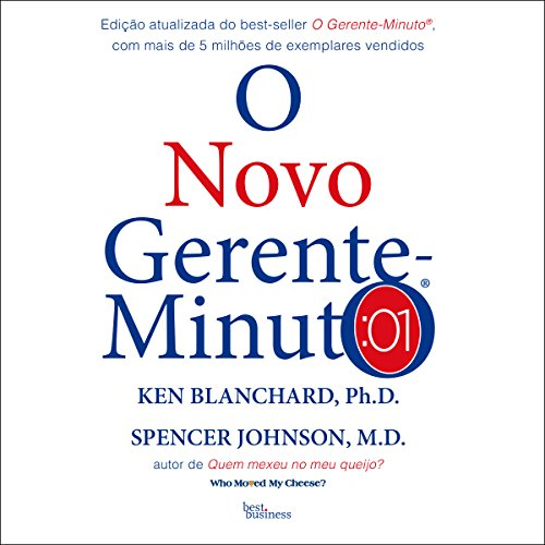O novo gerente-minuto [The New Minute Manager] audiobook cover art
