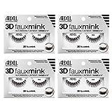 Ardell False Eyelashes 3D Faux Mink 858, 4 pairs