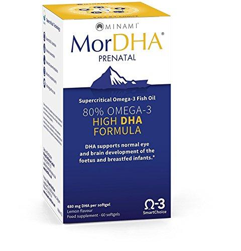 (2 Pack) - Minami Nutrition - MorDHA Prenatal | 60's | 2 PACK BUNDLE
