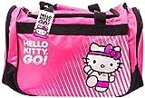 Hello Kitty Sports Duffle Bag, Hot Pink, 20.5 x 11.8-Inch