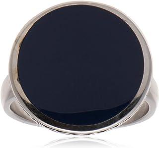 خاتم ملاكي من الفضة الاسترليني للرجال من عتيق