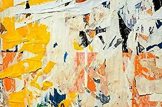 3D Yellow Paint 092 Wall Paper Print Decal Deco Indoor Wall Mural Self-adhesive Wallpaper AJ WALLPAPER AU Zoe (416x254cm(W...
