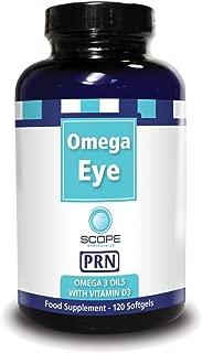 Omega Eye PRN - Omega 3 Oil with Vitamin D3 Nutritional Supplement (120 Softgels)