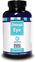 Omega Eye PRN - Omega 3 Oil with Vitamin D3 Nutritional Supplement (120 Softgels)