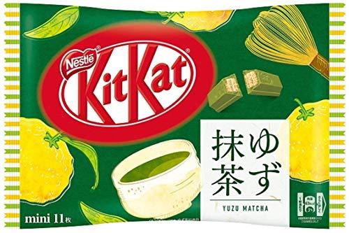 Japanisches Kit Kat Yuzu Matcha Schokolade