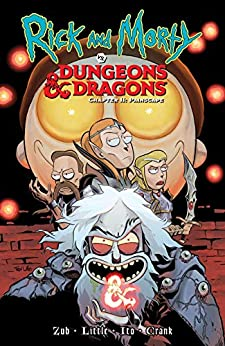 Rick and Morty vs. Dungeons & Dragons II: Painscape by [Jim Zub, Troy Little, Leonardo Ito]