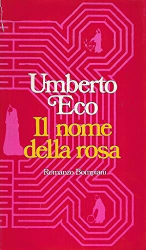 Il nome della rosa Bompiani 1° edizione