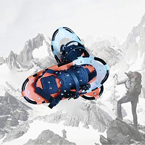 WishY Schneeschuhe,22 Inch SchuhgrößE,Individuell GrößEnverstellbar, Schneeschuhe Herren & Schneeschuhe Damen Schneeschuh Set Mit Praktischer Schneeschuhe Tragetasche
