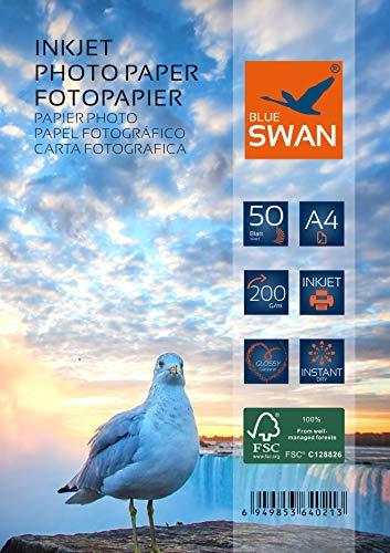 200 Blatt Fotopapier A4 200g hochglanz wasserfest einseitig hochglanz (A4 200g)