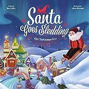 Santa Goes Sledding on Christmas Eve