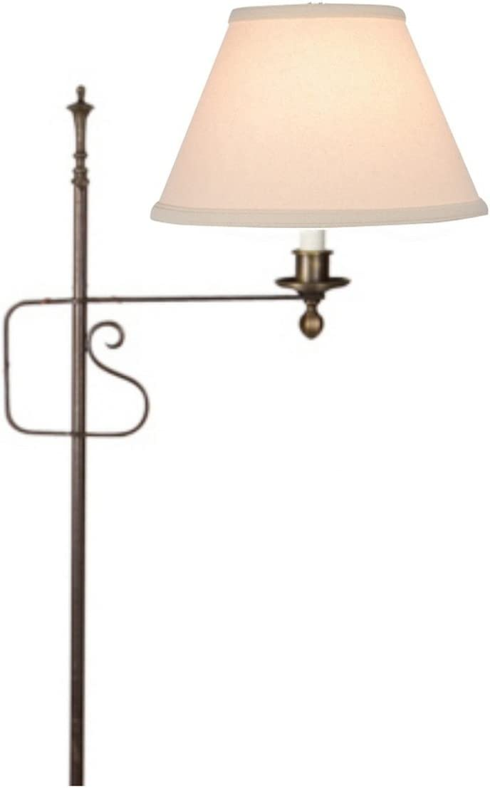 Upgradelights Beige Linen Houston Mall 8 Inch Lamp Replacement Empire on Max 67% OFF Clip