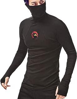 Men's Hoody Sweatshirt,Iuhan Mens Mask Splicing Pullover Long Sleeve Hooded Tops Blouse
