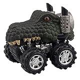 Creativo animal niños regalo dinosaurio juguete dinosaur modelo personalidad mini tigre juguete coche regalo tirón trasero coches águila juguete cumpleaños regalos de cumpleaños historia juego adolesc