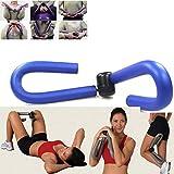 ASUMAN Thigh Master attrezzo Ginnico Fitness Corpo Leg Arm Muscle Toner Exercise Machine Home Gym Equipment Leg Braccio Gamba Shaper Trimmer Blu