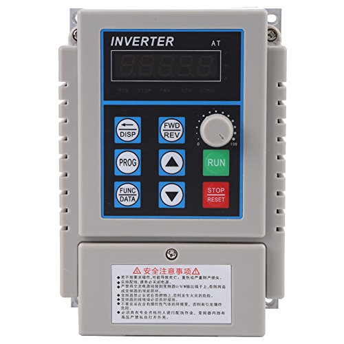1pc Wechselstrom 220V 0.75KW VFD Frequenzumrichter Antrieb Inverter, Walfront VFD Geschwindigkeits Prüfer Inverter Einzelne Phrase