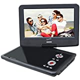 Supersonic SC-259A 9' Portable DVD Player with Digital TV & Swivel Display