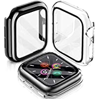2-Pack LeYi Hard TPU Protective Cover Case for 44mm Apple Watch Series 6/SE/5/4