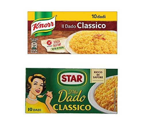 Star dado classico 10 stk + Knorr classico 10 stk Suppenwürfel Brühe