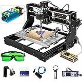 VEVOR 500mw-15W Cnc 3018 Pro Cnc 3018 Máquina CNC Grabador Láser Máquina de Grabado Láser para Cuero de Madera de Plástico (3018Pro 500mw)
