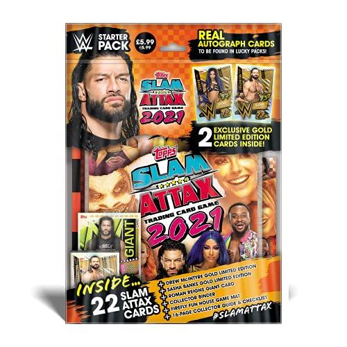 Topps WWE Slam Attax 2021 - Starter Pack