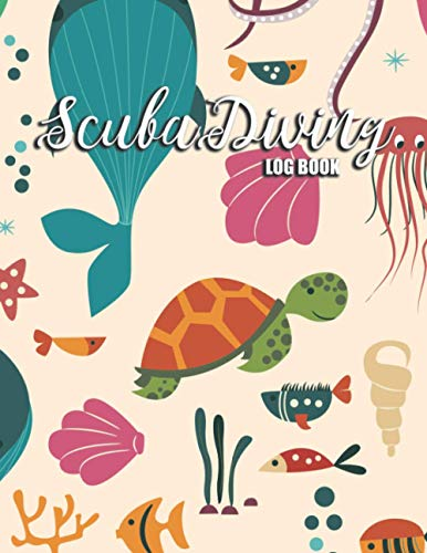 Scuba Diving Log book: Diver's Notebook Journal for underwater or Snorkeling diver