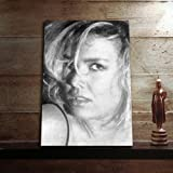 KIM WILDE - Original Art Print (LARGE A3 - Signed by the