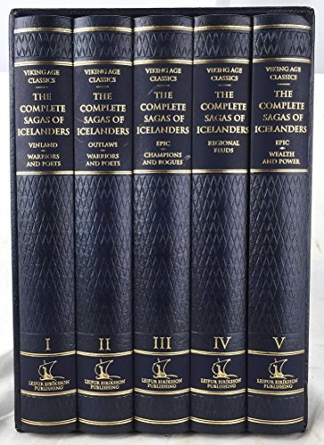 Compare Textbook Prices for The complete sagas of Icelanders, including 49 tales 1st Edition Edition ISBN 9789979929307 by Hreinsson, Vidar