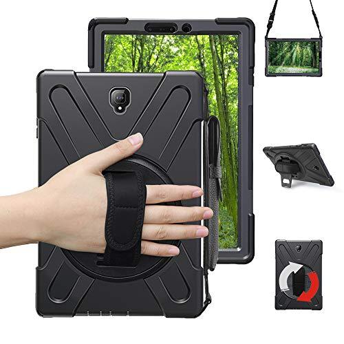 Junfire Schutzhülle für Samsung Galaxy Tab S4 T830/ T835/ T837(10,5 Zoll) 2018 Hülle,stoßfest and robust, 360 Grad drehbar, Standfunktion Hülle