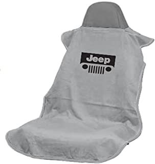 Seat Armour SA100JEPGG Grey 'Jeep with Grille' Seat Protector Towel