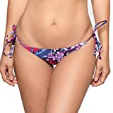 RELLECIGA ba?Ador Braguita Bikini para Mujer Tangas Thong Bottom Rio M/L